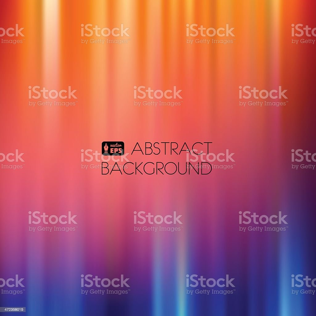 Blue-Orange Abstract Striped Background. royalty-free stock vector art