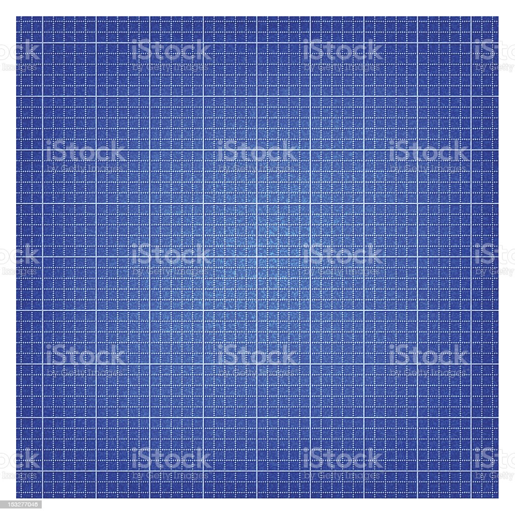 Blueprint paper. 1 credits. Seamless pattern texture with lines grid royalty-free stock vector art