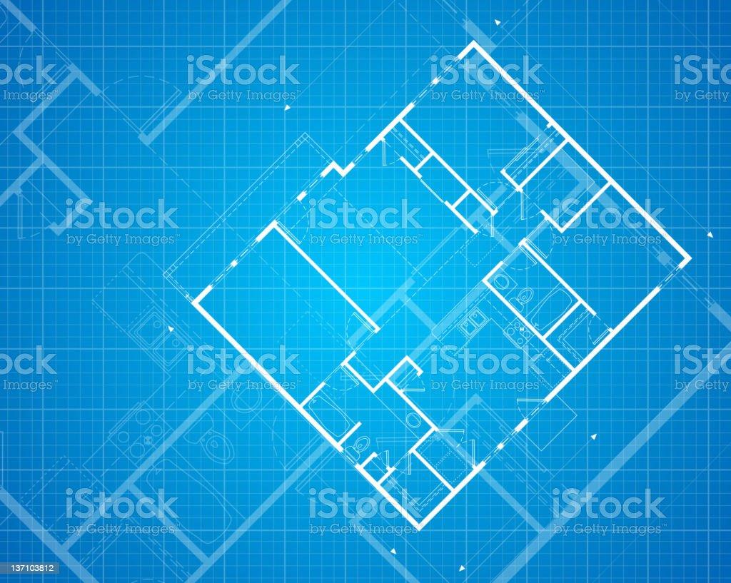 Blueprint royalty-free stock vector art