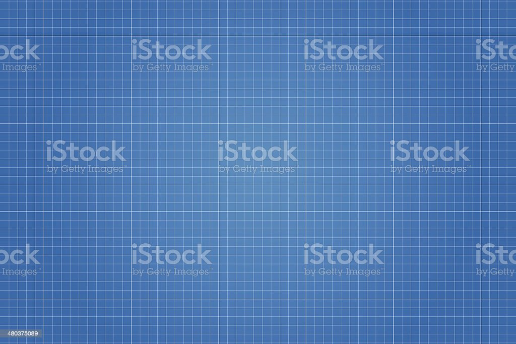 Blueprint vector illustration vector art illustration
