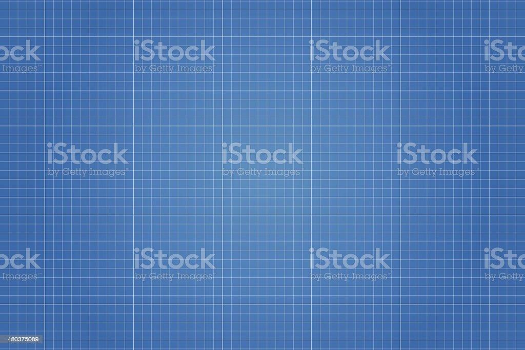 Blueprint vector illustration vector art illustration