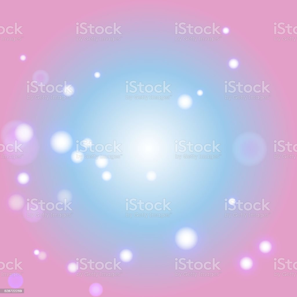Blur bokeh Abstract  bright color background vector art illustration