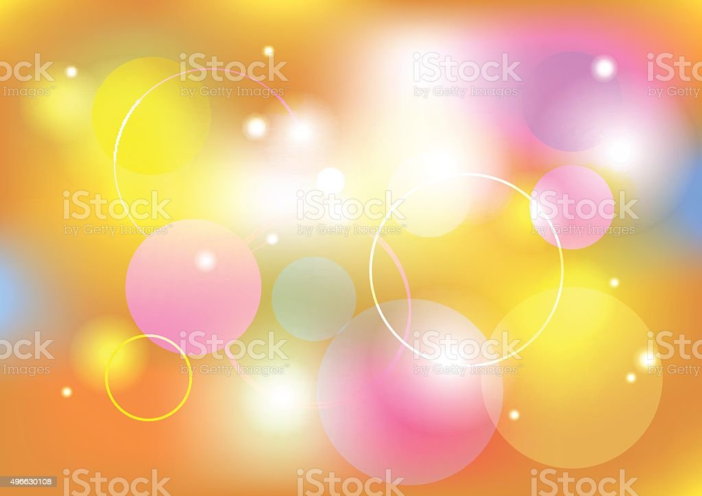 Blurred abstract background vector art illustration