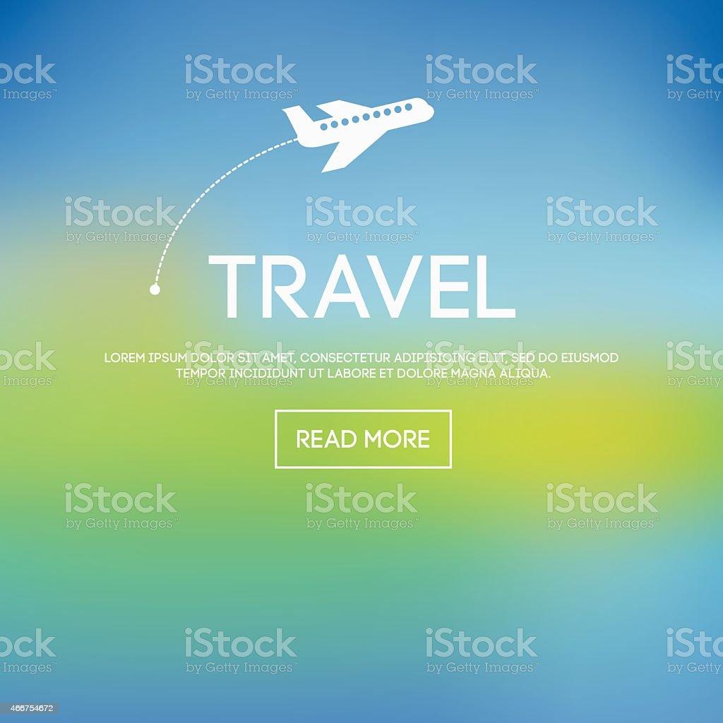 blurred background vector art illustration