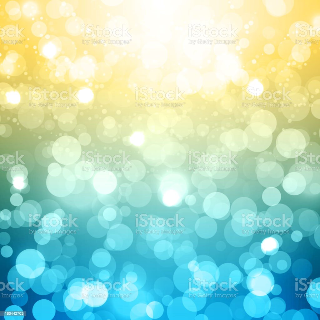 Blurred Festive Vector Background vector art illustration