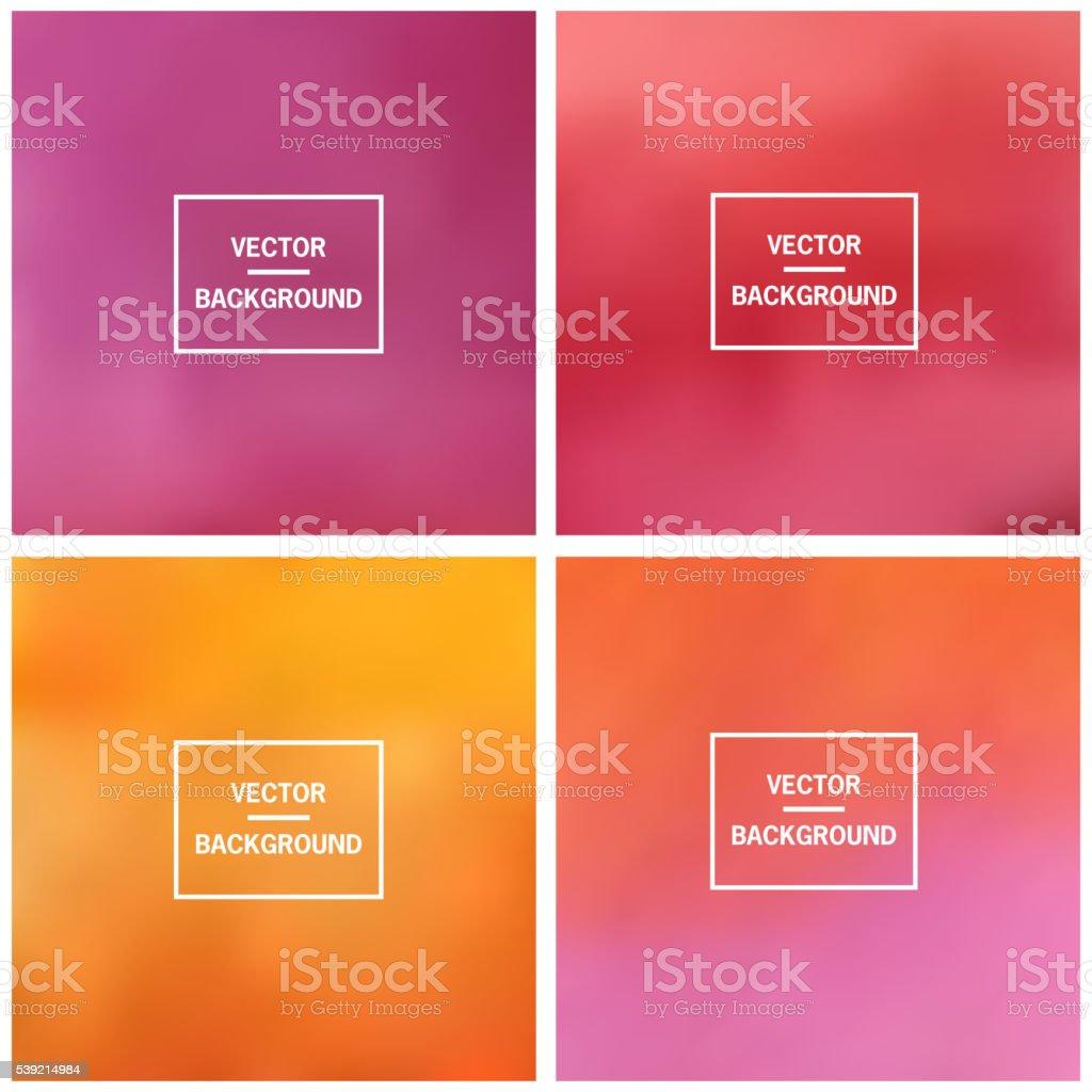 Blurred vector background vector art illustration
