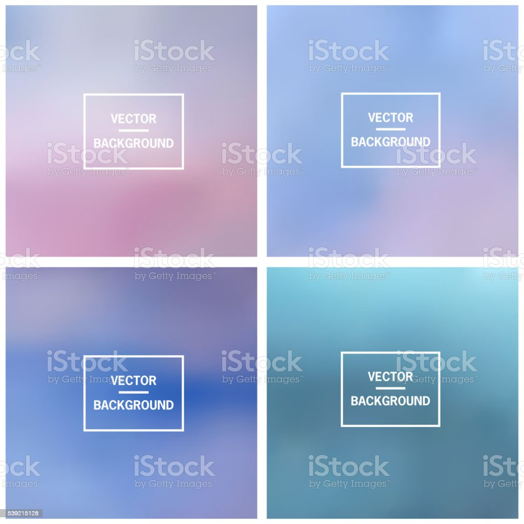 Blurred vector background vector art illustration