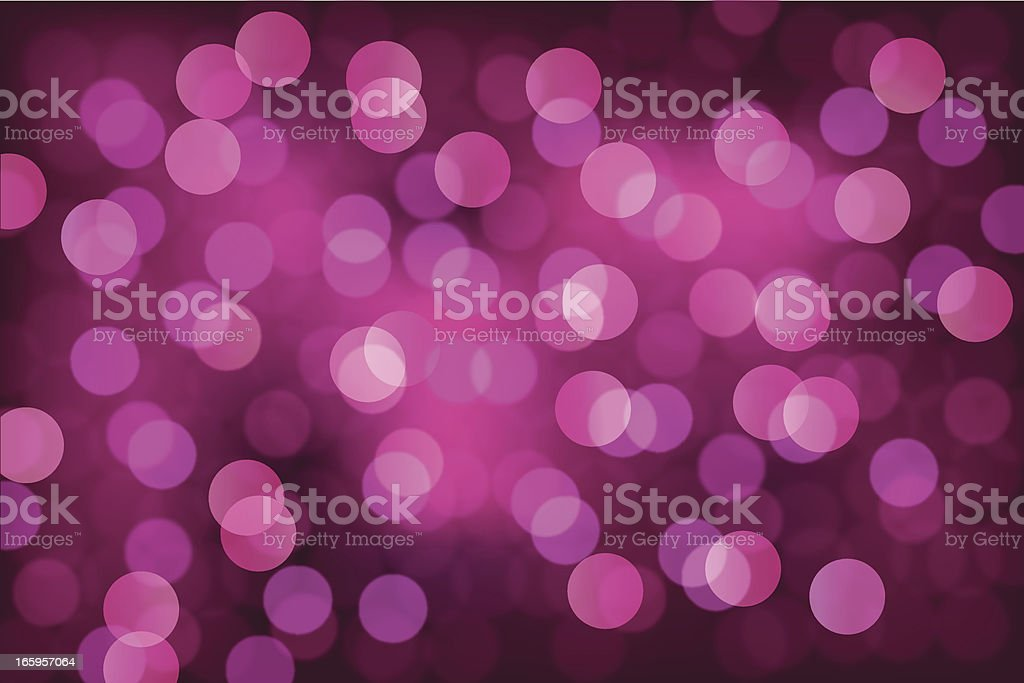 Blurry Lights Background royalty-free stock vector art