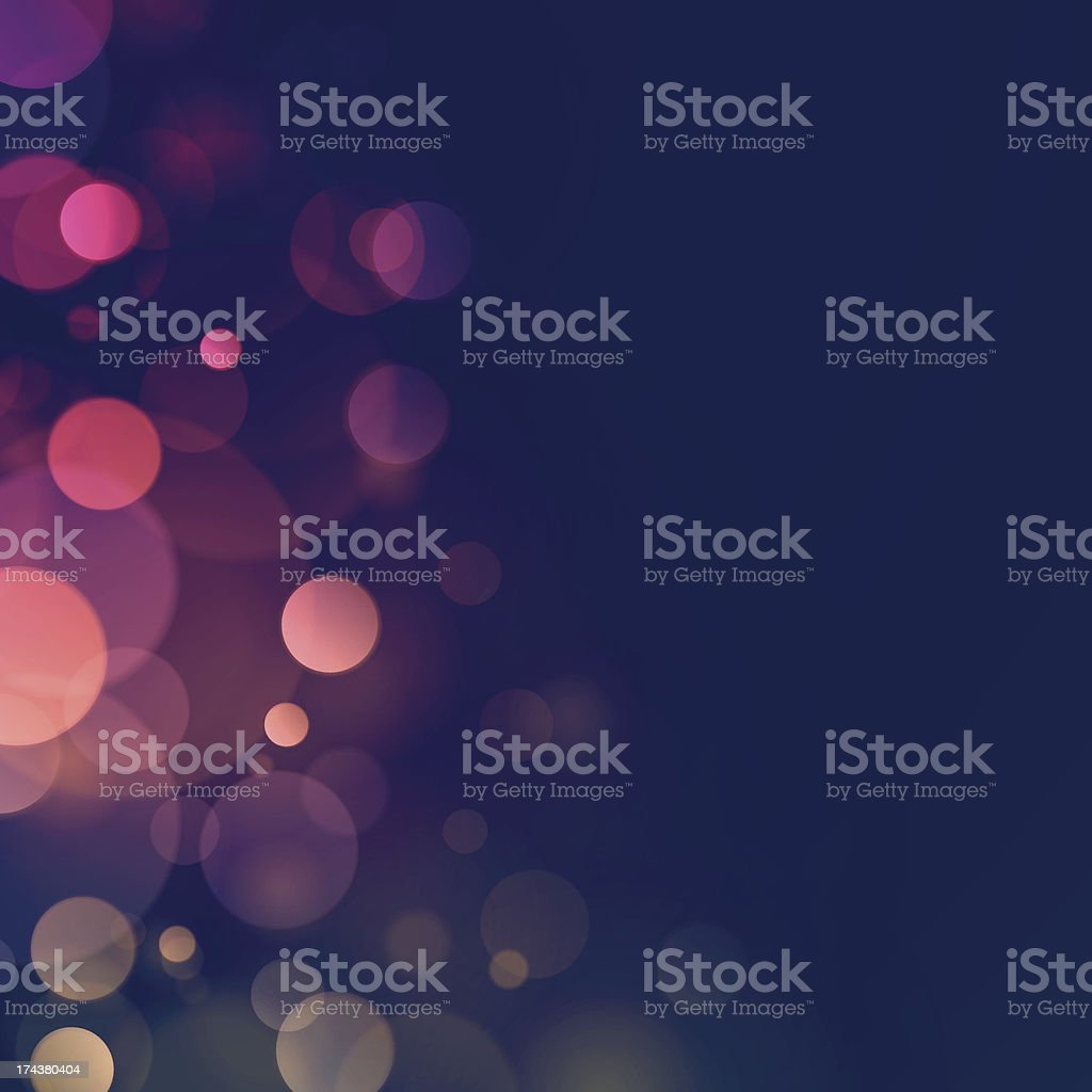 Blurry lights vector background vector art illustration