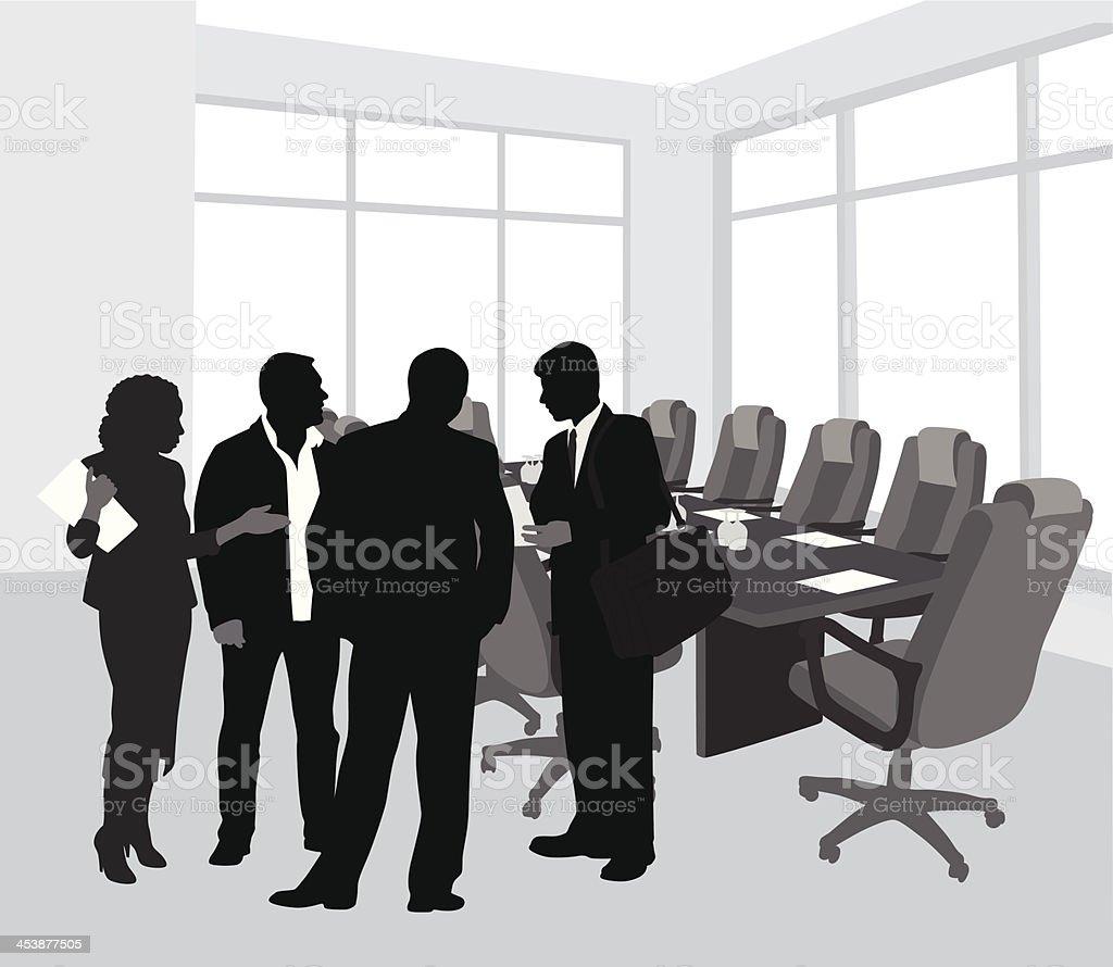 Board Of Directors royalty-free stock vector art