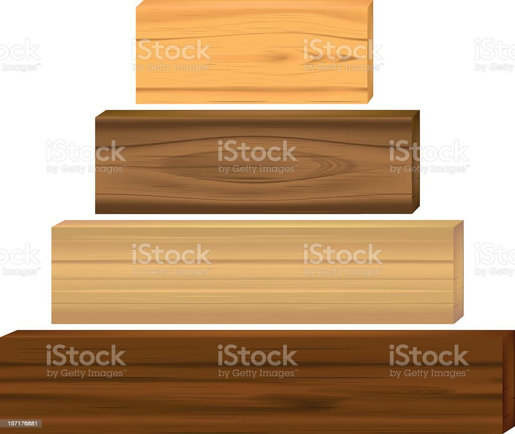 boards vector art illustration