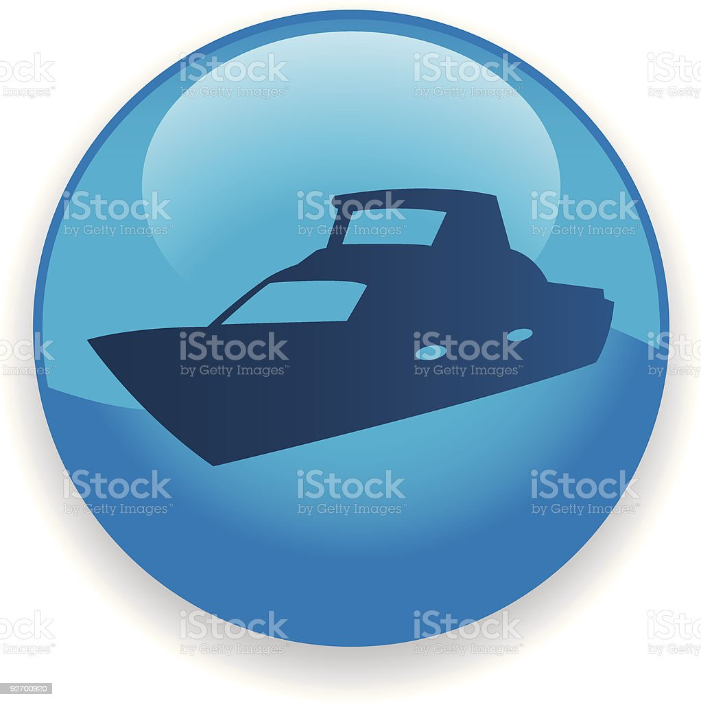 Boat Icon royalty-free stock vector art