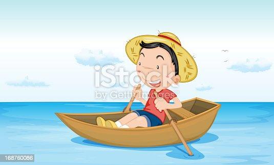плавали на лодке на английском