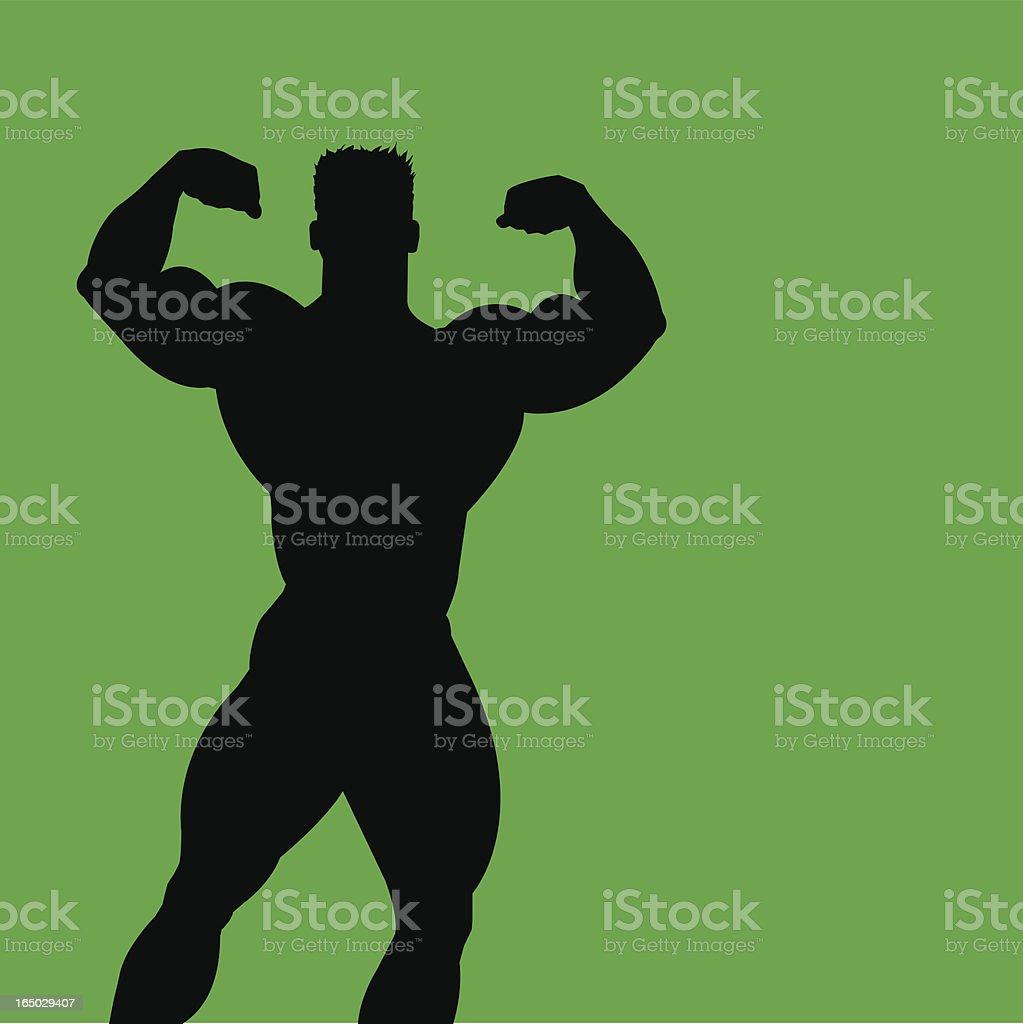 Bodybuilder 6 royalty-free stock vector art