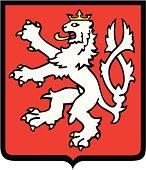 Bohemian lion coat of arms