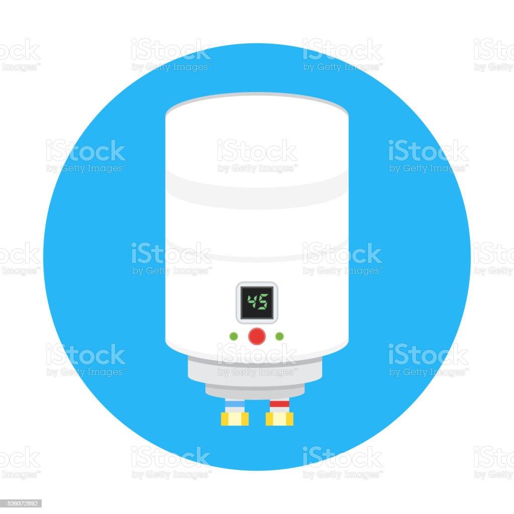 boiler icon vector vector art illustration