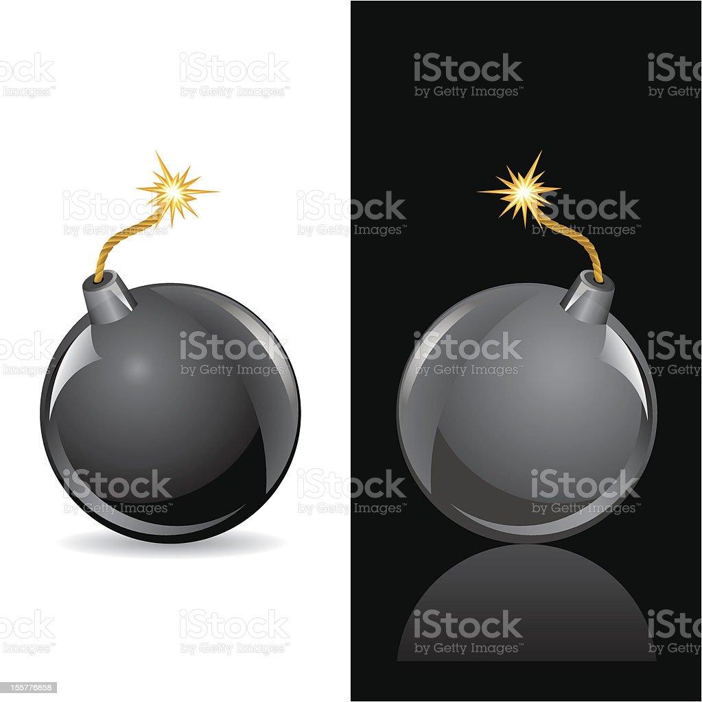 bomb sphere royalty-free stock vector art