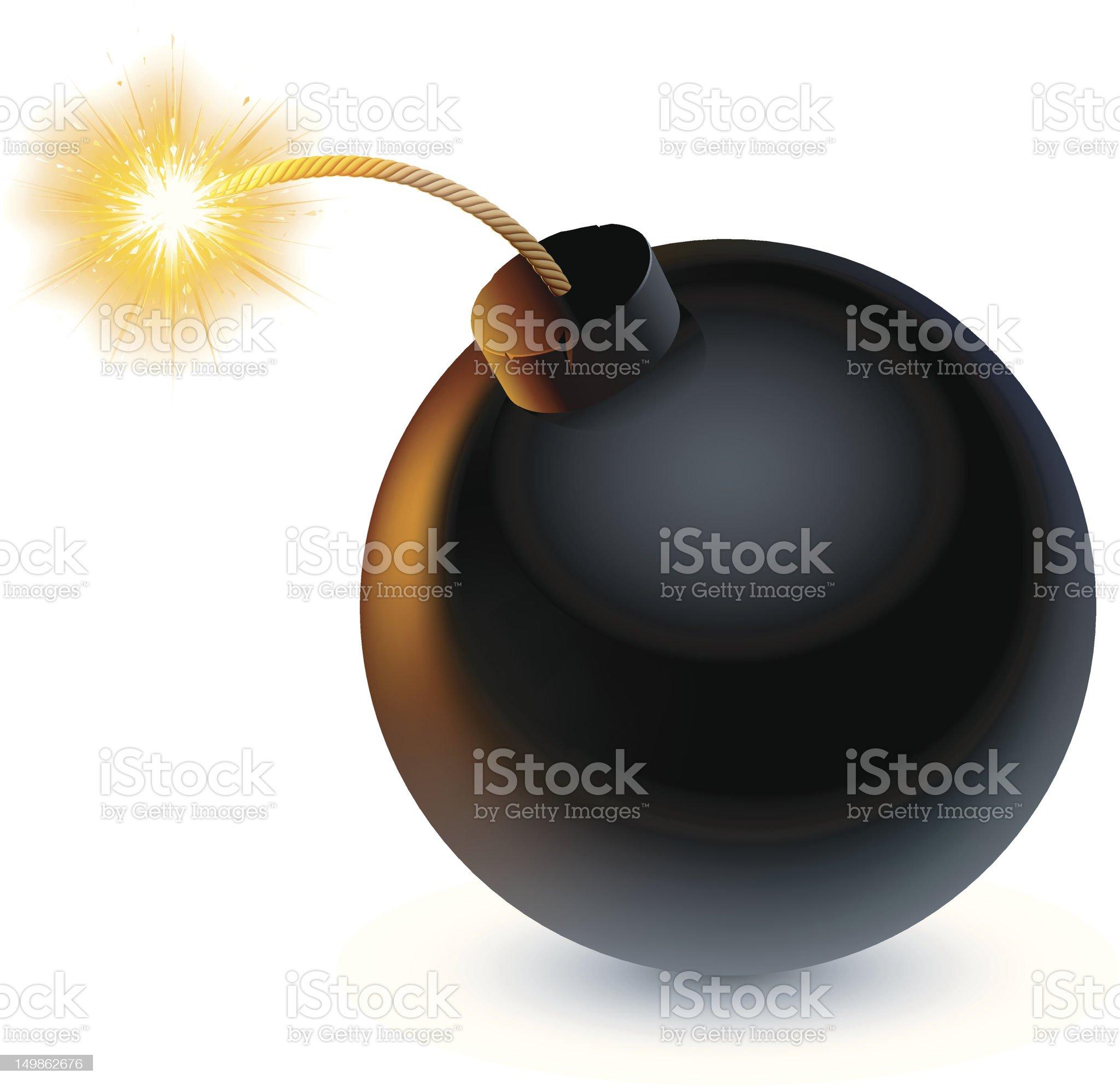 Bomb. royalty-free stock vector art