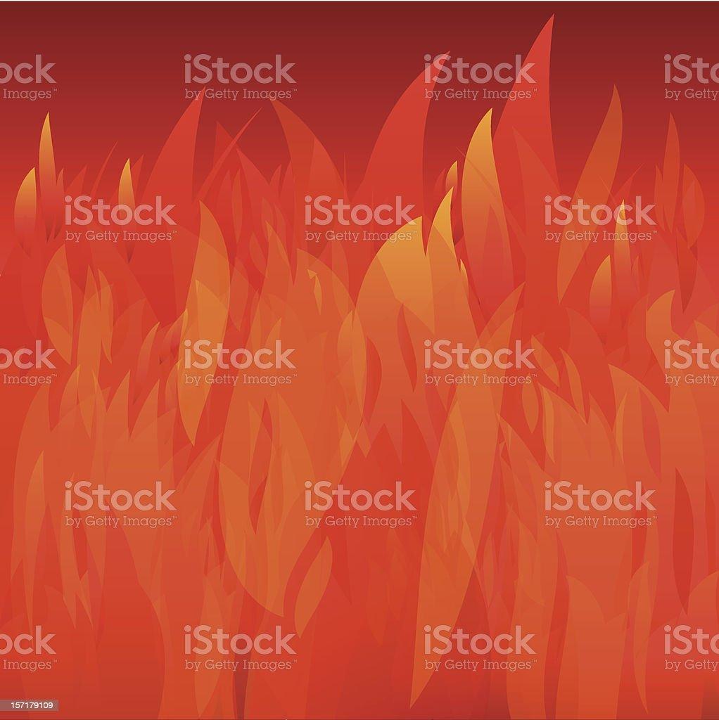 bonfire background royalty-free stock vector art