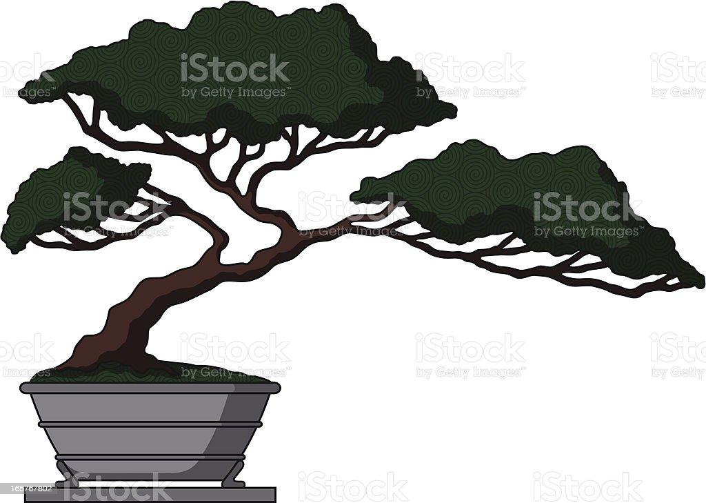 Bonsai royalty-free stock vector art