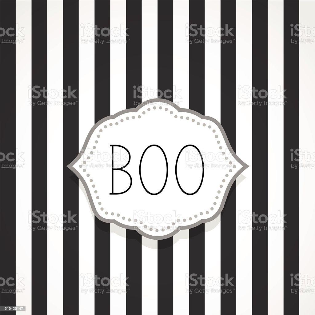 Boo vector art illustration