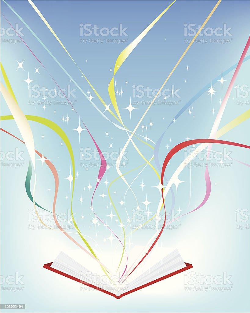 Buchen und Bildung Lizenzfreies vektor illustration