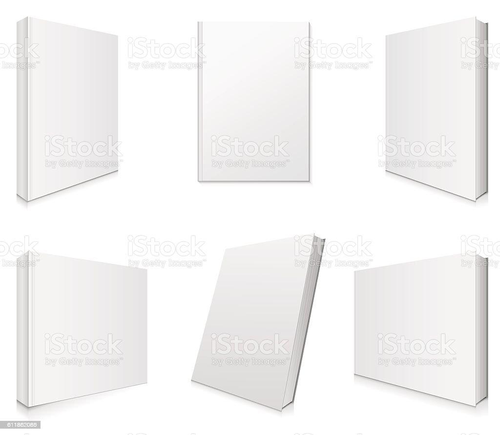 Book Covers Vector Illustration. vector art illustration