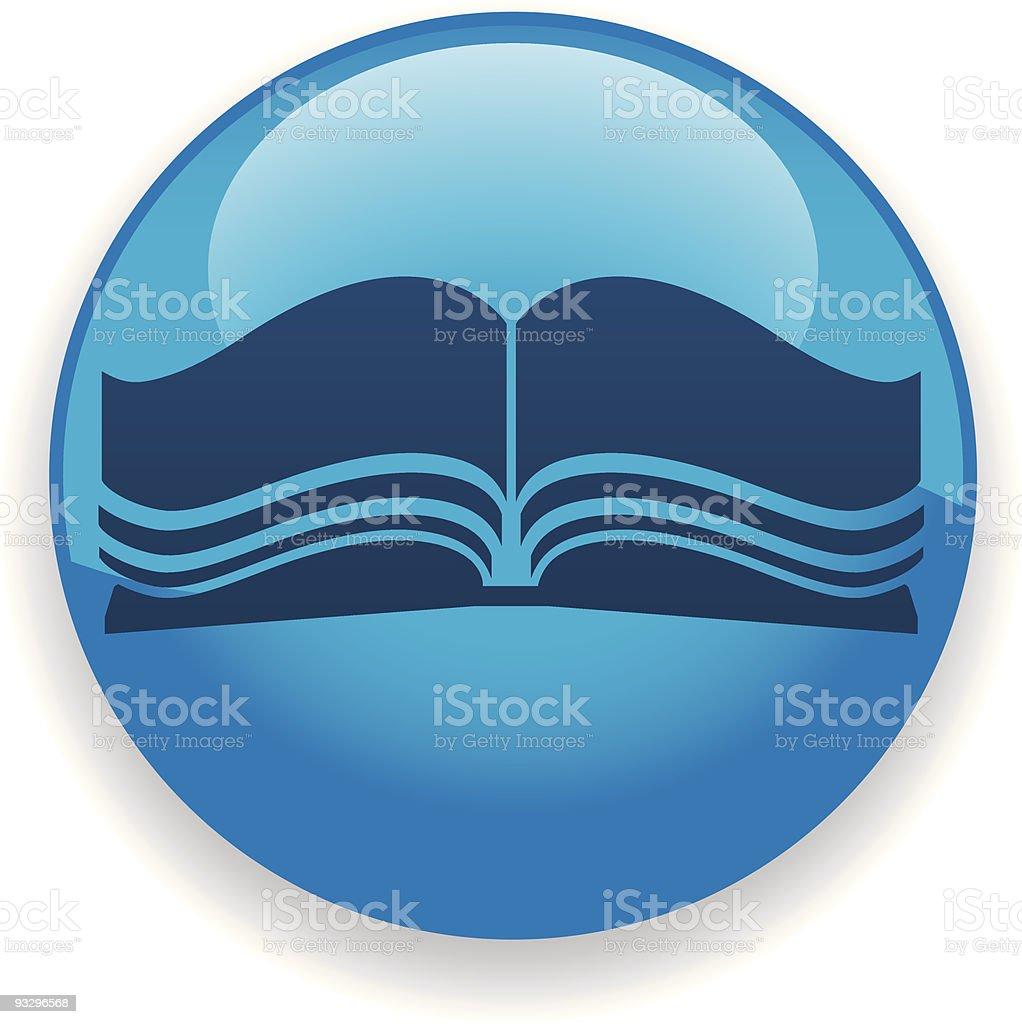 Book Icon royalty-free stock vector art