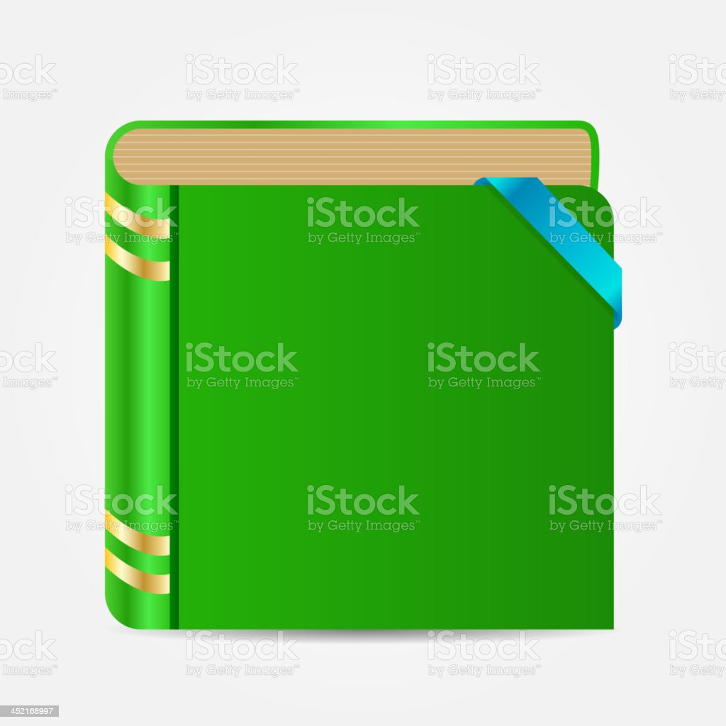 Book icon vector illustration royalty-free stock vector art
