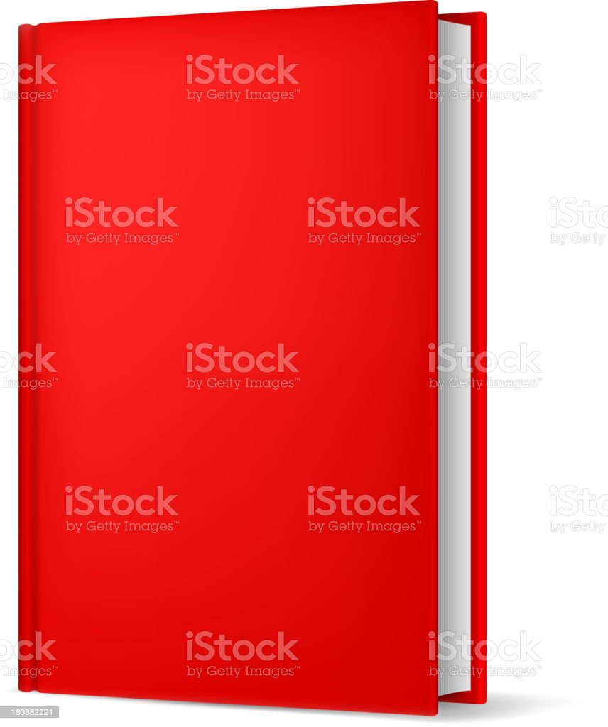 Book isolated on white. royalty-free stock vector art