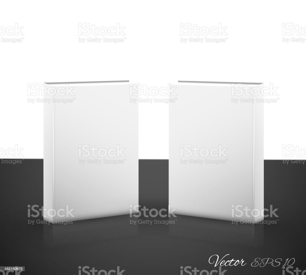 Book on white royalty-free stock vector art