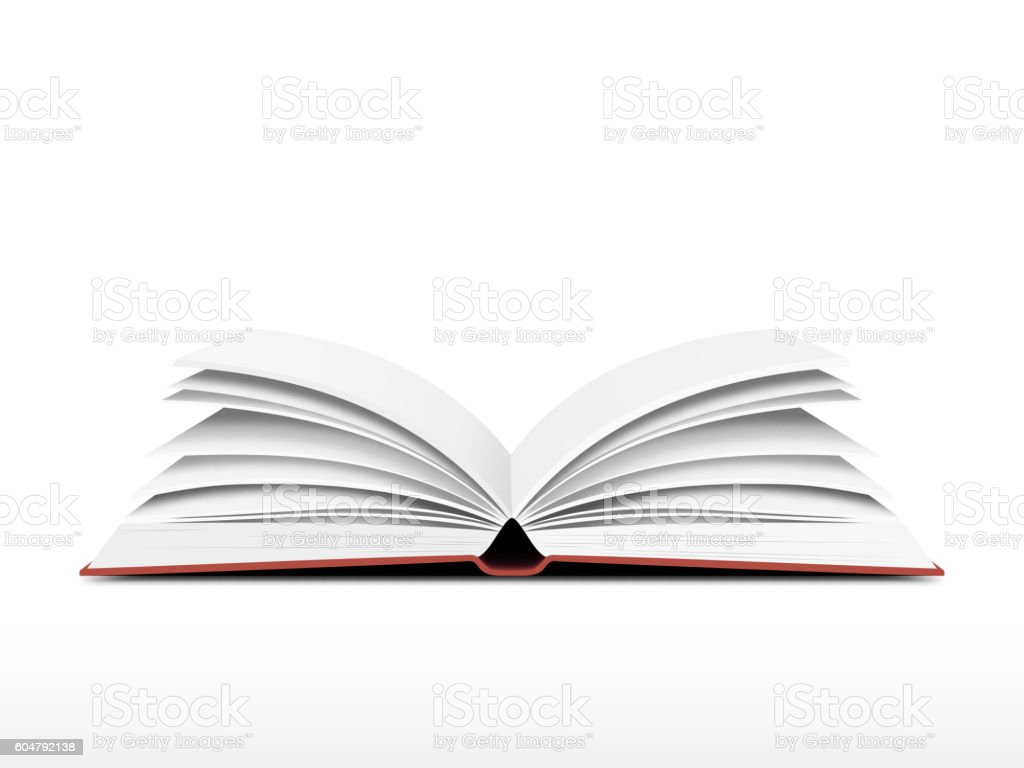 Book open vector vector art illustration