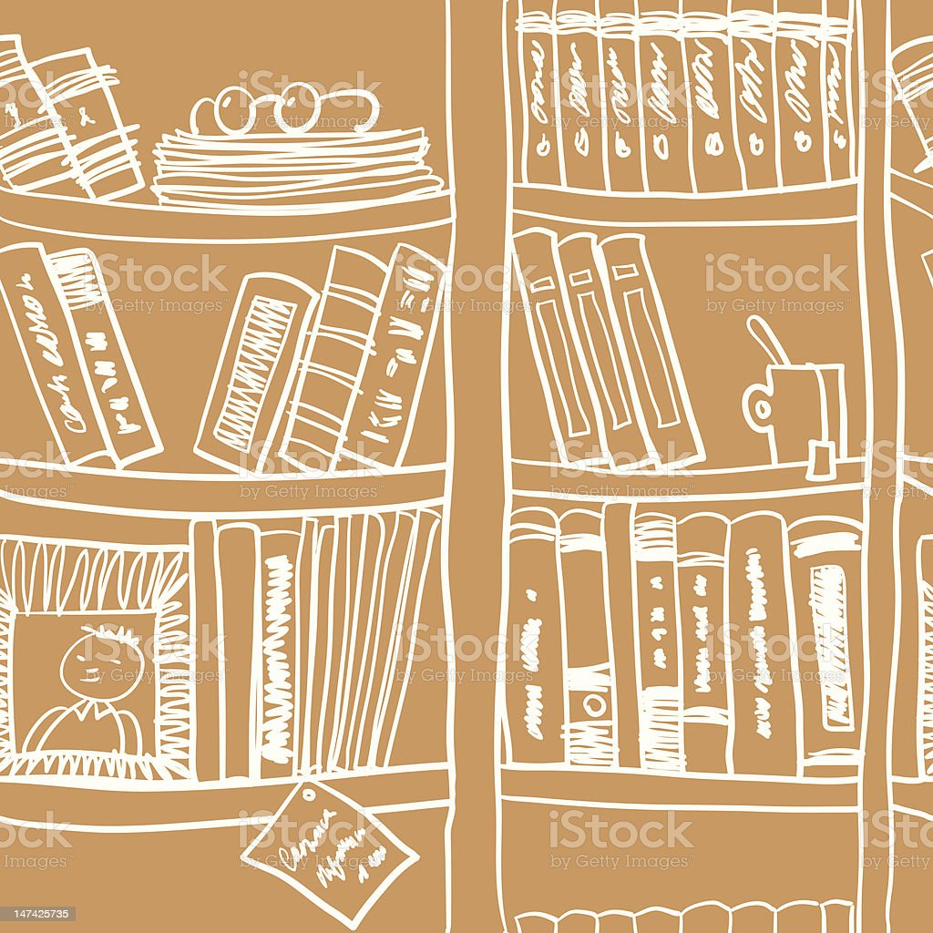 Book Pattern. royalty-free stock vector art