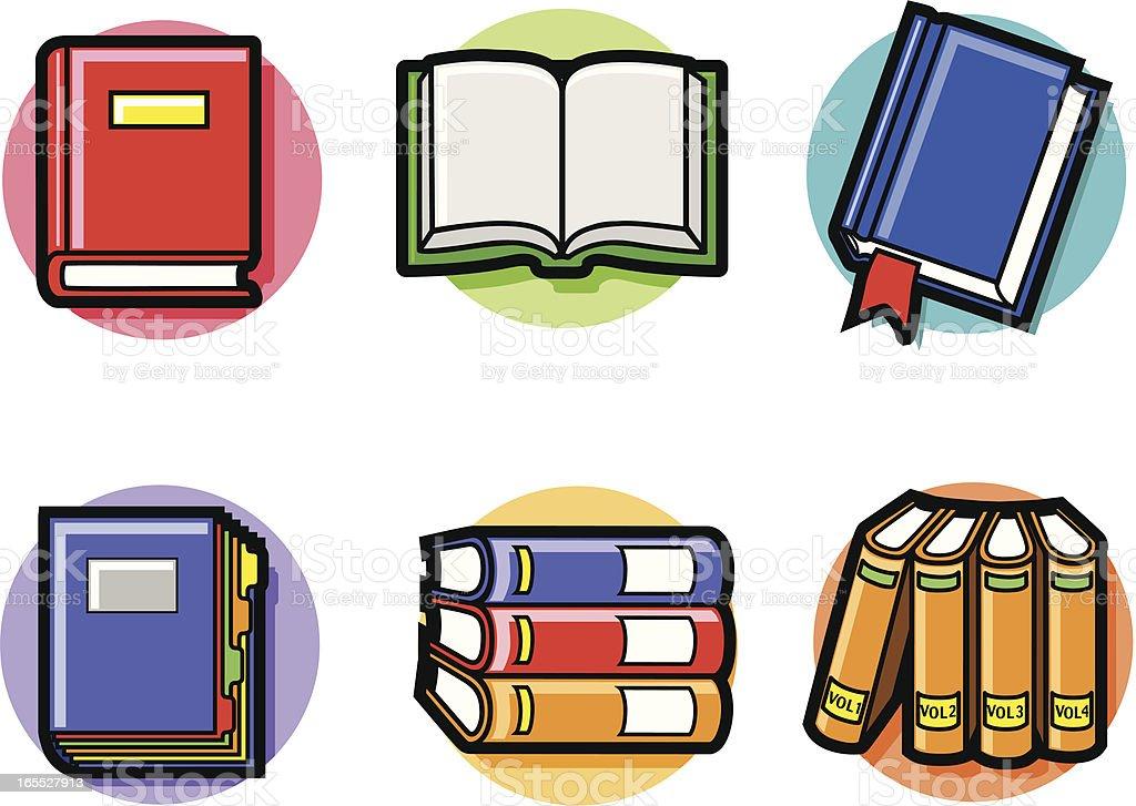 books royalty-free stock vector art