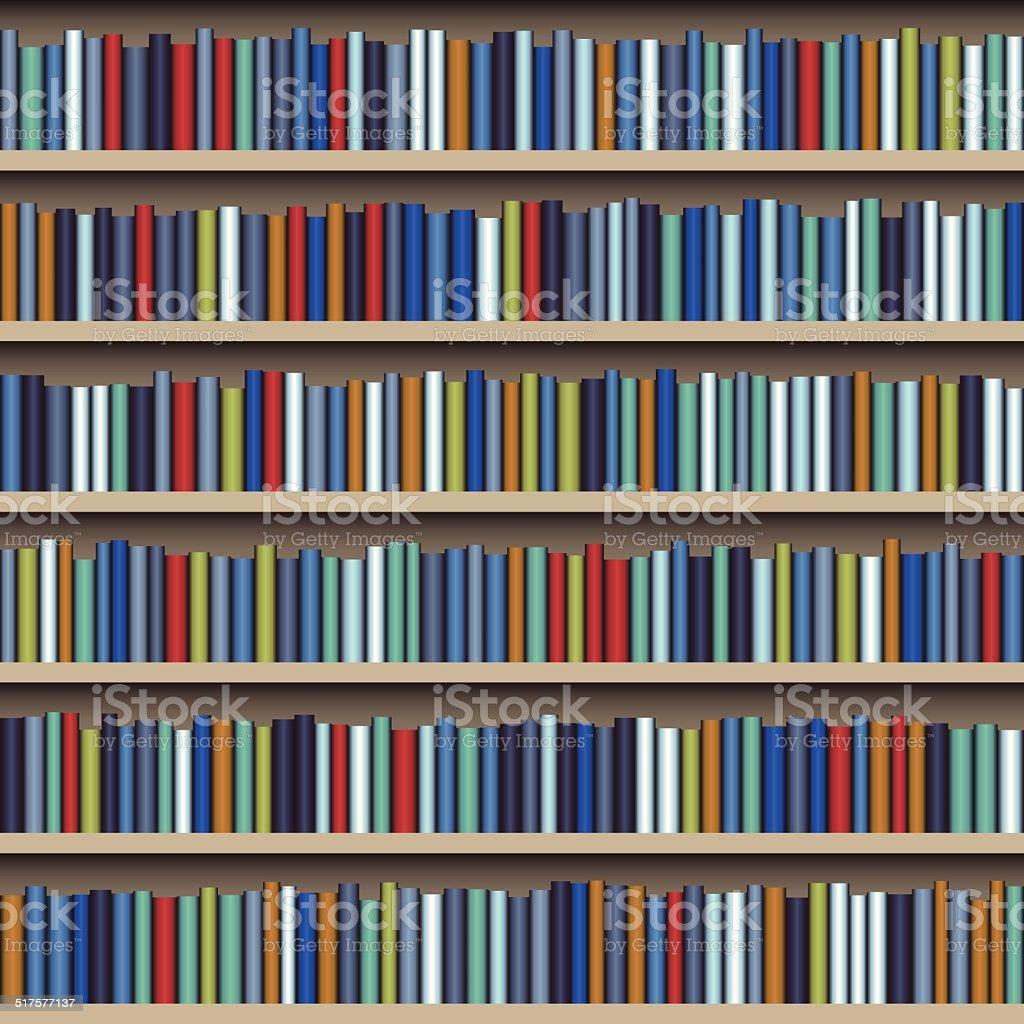 estantera de libros libre de derechos libre de derechos
