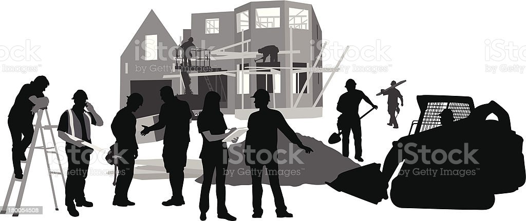 Boots On The Ground royalty-free stock vector art