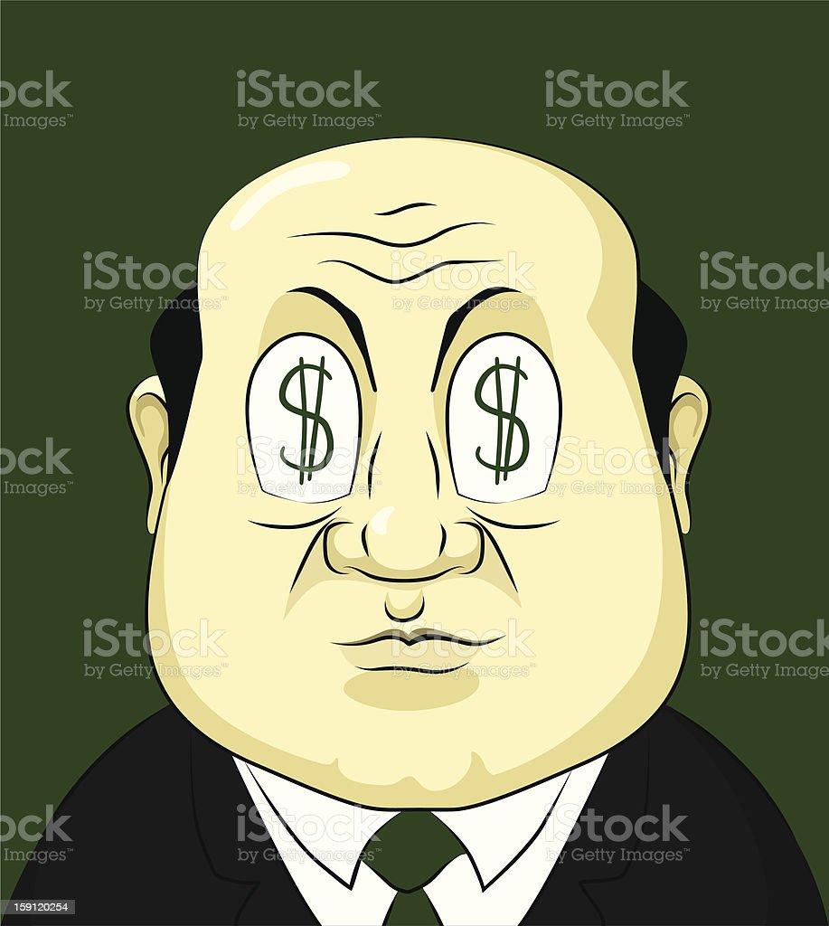 Boss royalty-free stock vector art