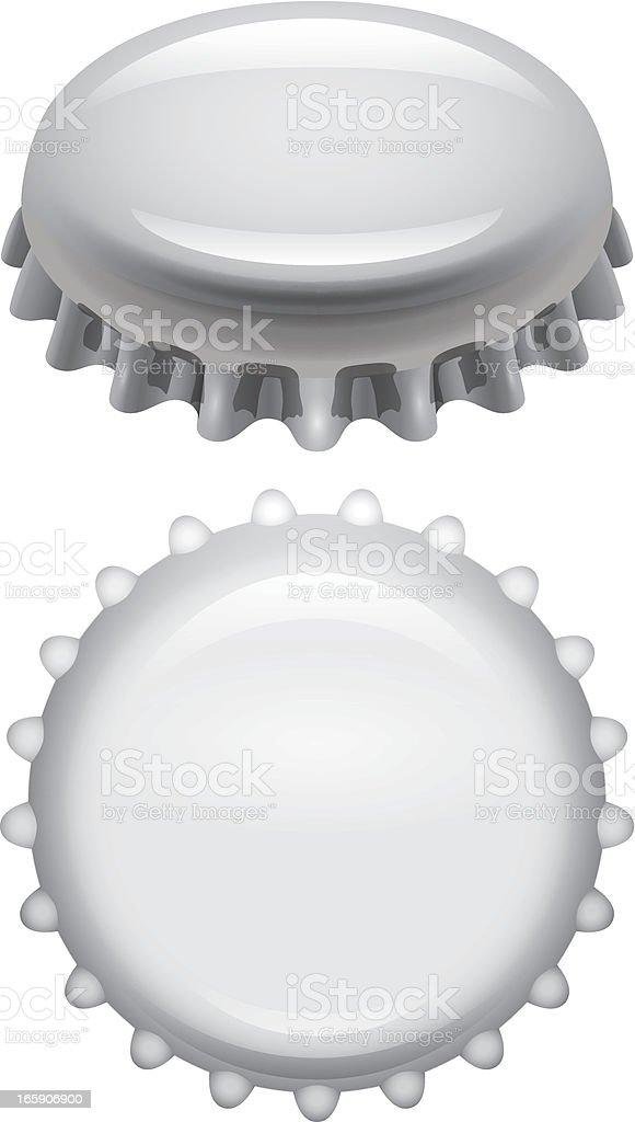 Bottle cap royalty-free stock vector art