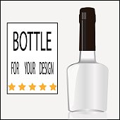 Bottle for your design