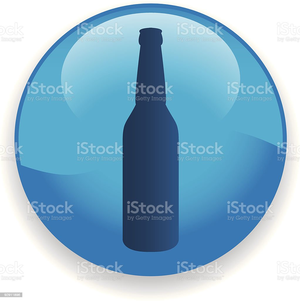 Bottle Icon royalty-free stock vector art