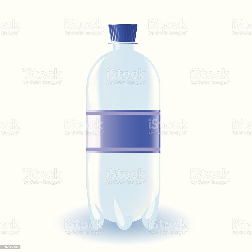 bottle of water royalty-free stock vector art