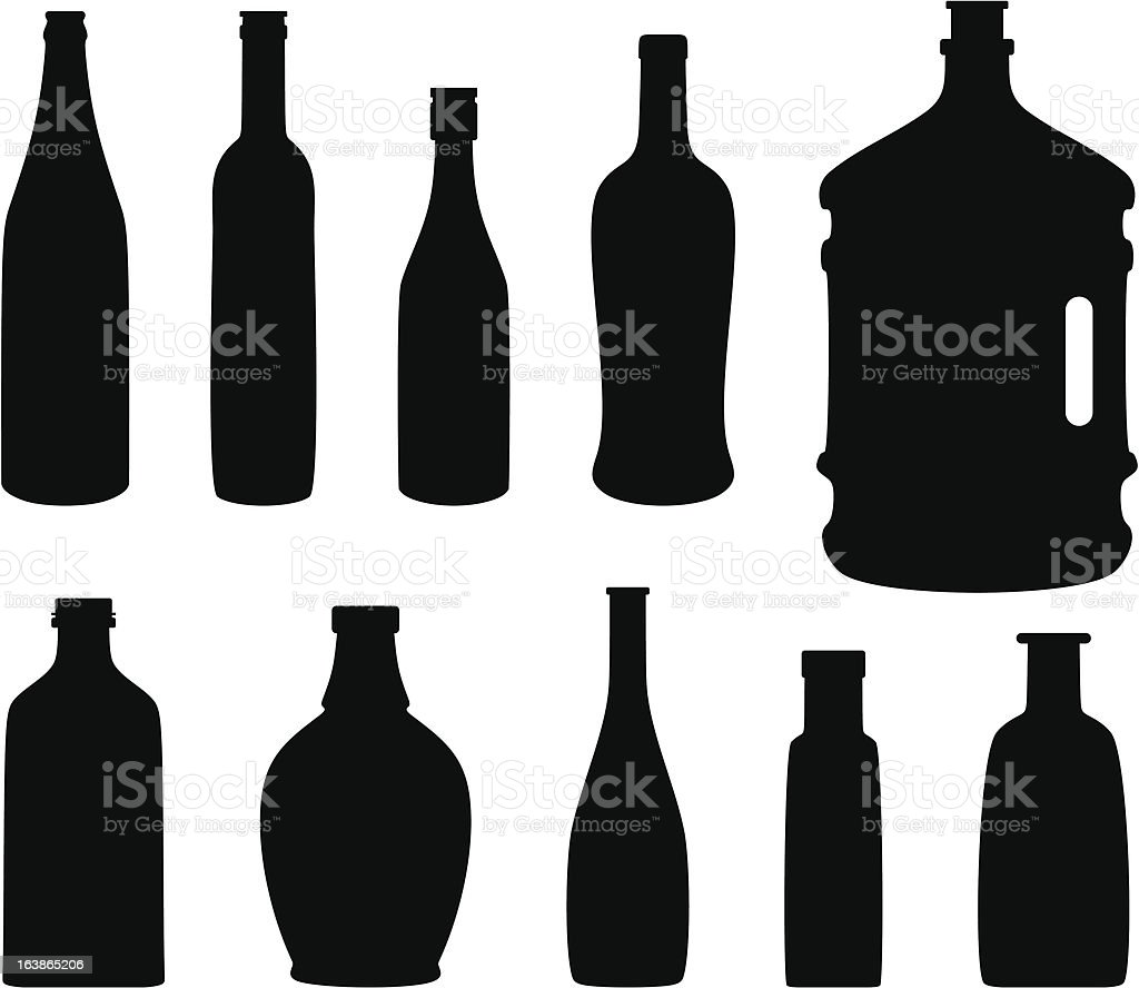 Bottle royalty-free stock vector art