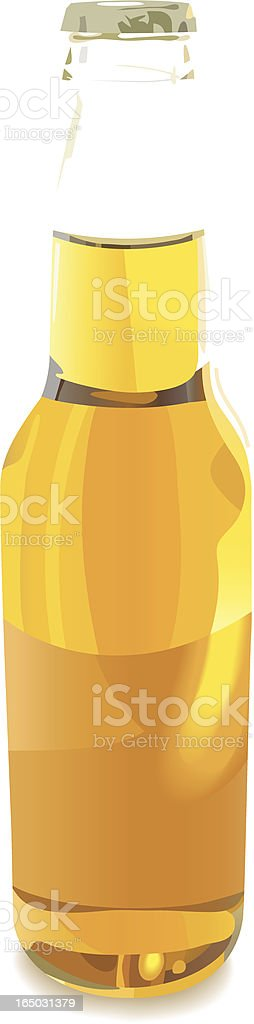 Bottle - Vector royalty-free stock vector art