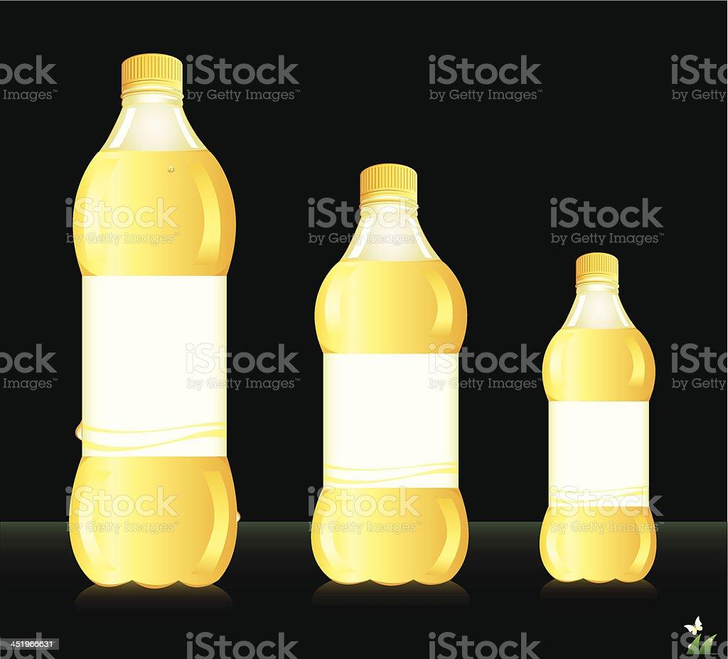 Bottles for juice. royalty-free stock vector art