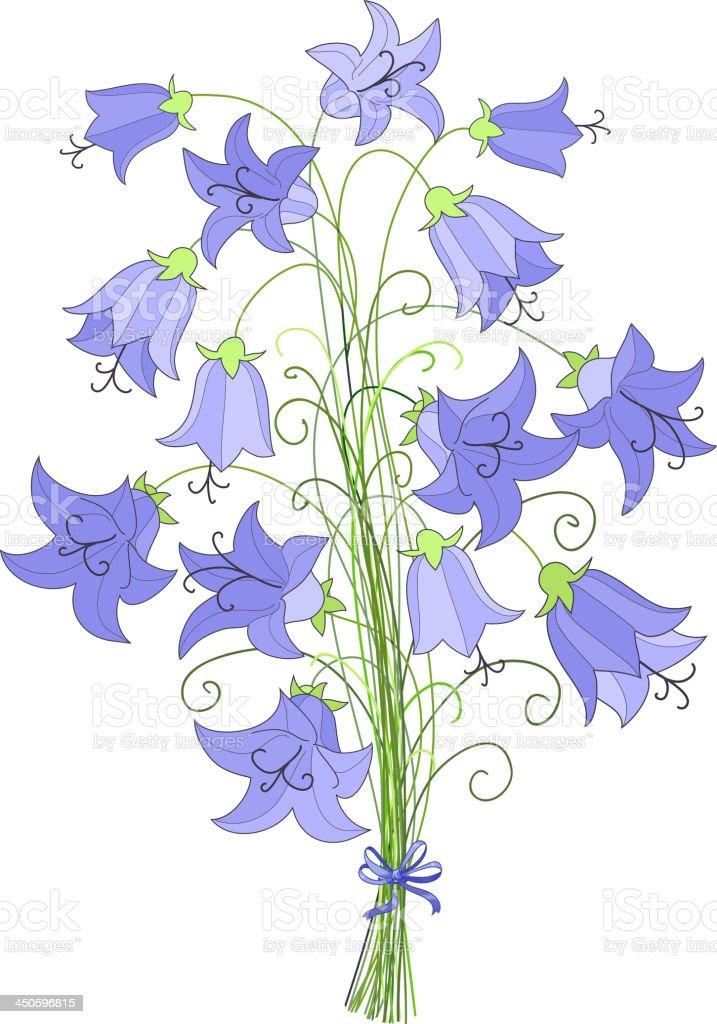 bouquet vector art illustration
