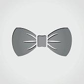 bow grey icon