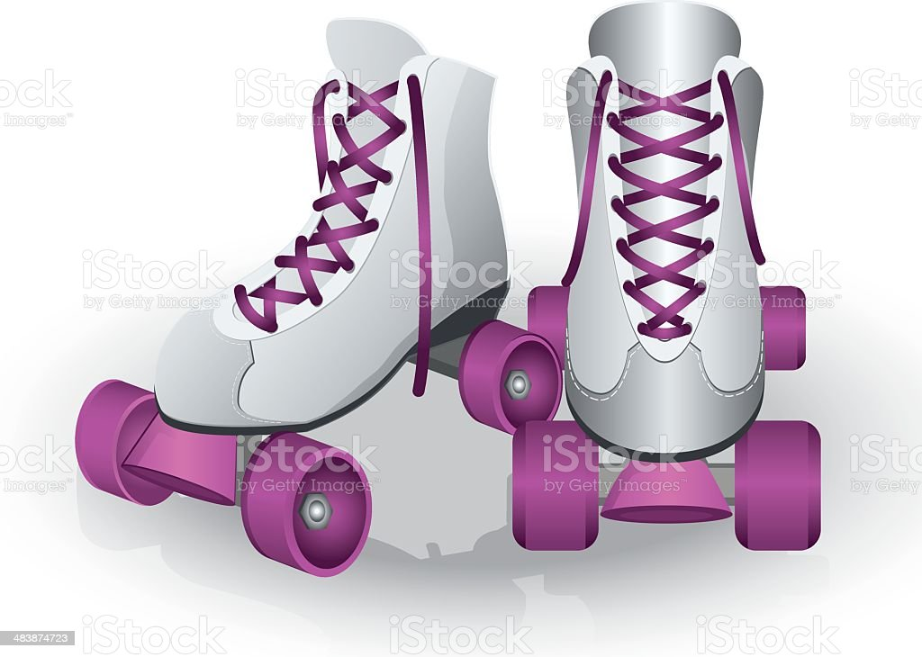 Roller Skate Clip Art, Vector Images & Illustrations - iStock