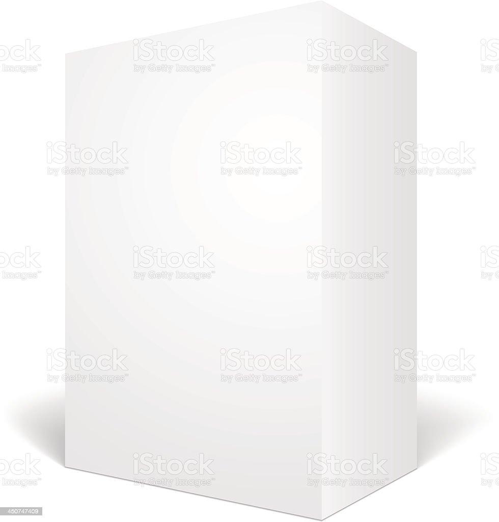 Box vector art illustration