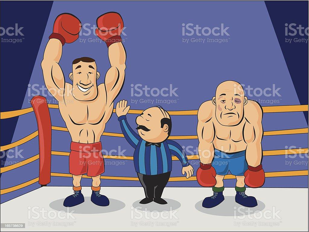 boxer champion royalty-free stock vector art