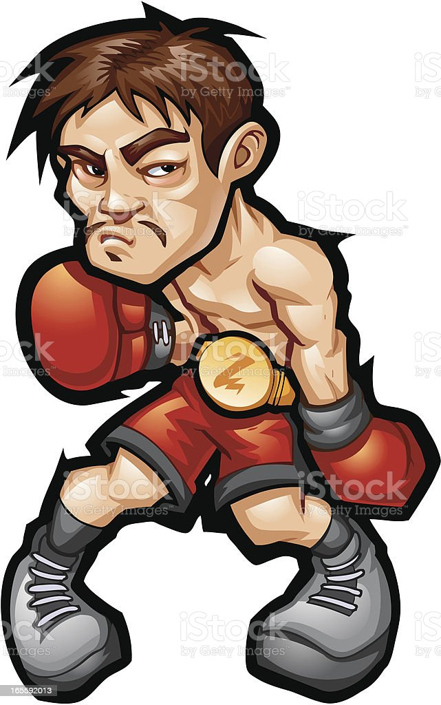 Boxer royalty-free stock vector art
